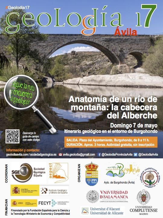 Geolodía de Ávila, Anatomía de un río de montaña: la cabecera del ...